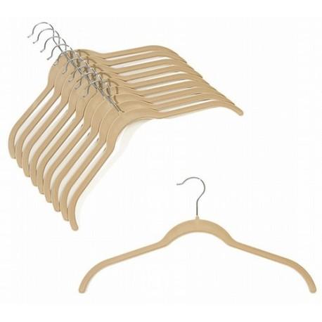 Slim-Line Camel Shirt Hangers