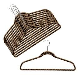 "SlimLine ""Cheetah Print"" Shirt/Pant Hangers"