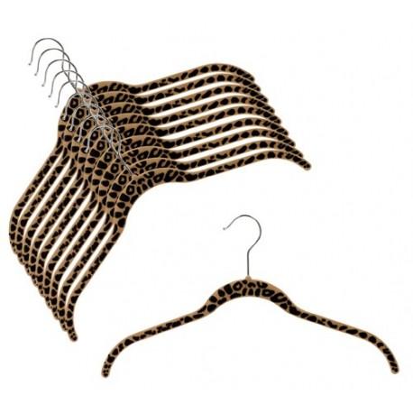 "SlimLine ""Cheetah Print"" Shirt Hangers"
