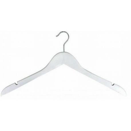 White Flat Top Hanger