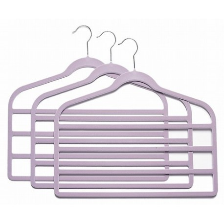 Slim-Line Lavender Multi Pant Hangers