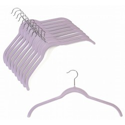 Slim-Line Lavender Shirt Hangers
