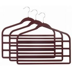 Slim-Line Burgundy Multi Pant Hangers