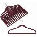 Slim-Line Burgundy Shirt/Pant Hangers