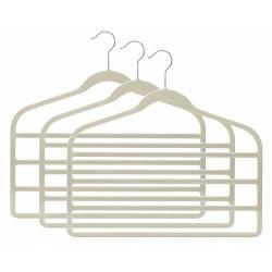 Slim-Line Linen Multi Pant Hangers