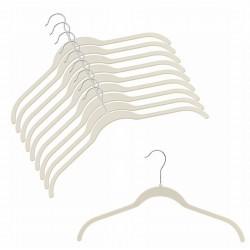Slim-Line Linen Shirt Hangers