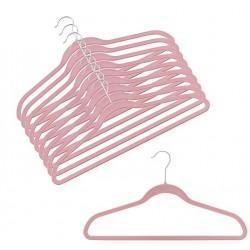 Slim-Line Pink Shirt/Pant Hangers