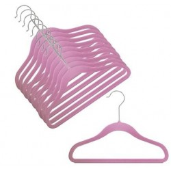 "12"" Childrens Grape Slim-Line Hanger"