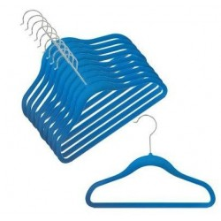 "12"" Childrens Blueberry Slim-Line Hanger"