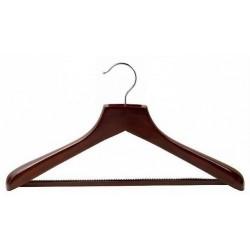 Deluxe Suit Hanger w/ Non-Slip Bar