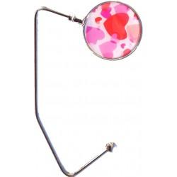 Purse Hanger (Pink Hearts)