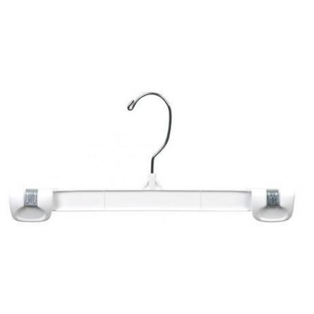 """White 10"""" Gripper Hanger w/ Swivel Hook"""