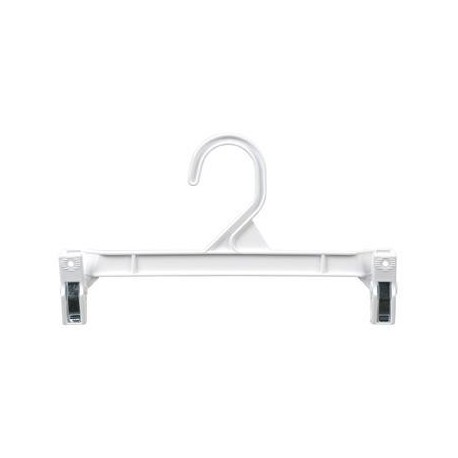 "White 9.5"" Hang-Safe Pant/Skirt Hangers"