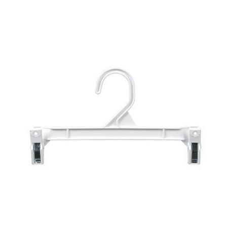 """White 11.5"""" Hang-Safe Pant/Skirt Hanger"""