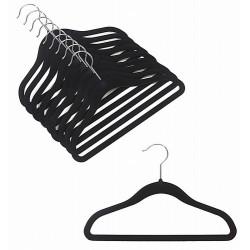"""12"""" Childrens Black Slim-Line Hanger"""