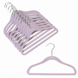 "12"" Childrens Lavender Slim-Line Hanger"