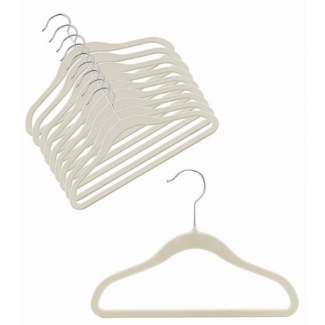 """12"""" Childrens Linen Slim-Line Hanger"""