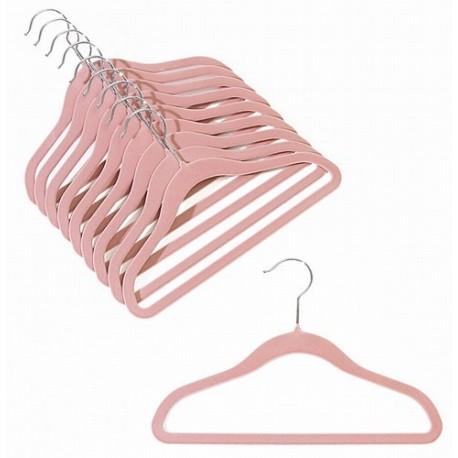 """12"""" Childrens Pink Slim-Line Hanger"""