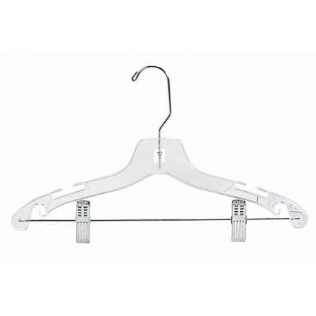 """14"""" Childrens/Teens Plastic Suit Hanger"""