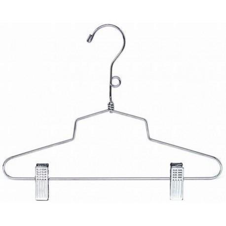 """12"""" Metal Combination Hanger w/Clips"""