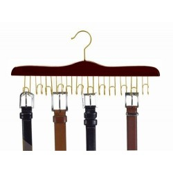 Belt Hanger / Walnut & Brass