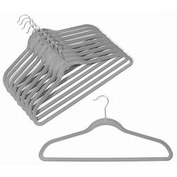 Slim-Line Platinum Shirt/Pant Hangers