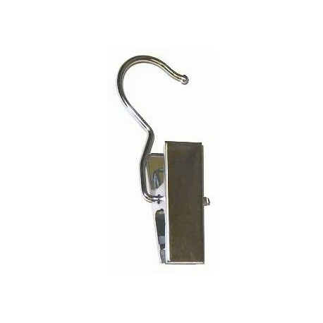 Satin Chrome Clip Hanger