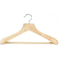 Contoured Suit Hanger w/Non-Slip Bar