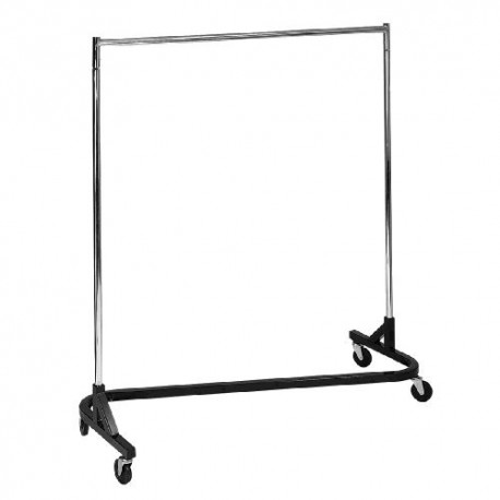 "Heavy Duty Industrial ""Z"" Rack w/Black Base"