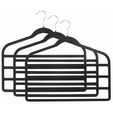 Slim-Line Black Multi Pant Hangers