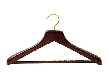 Walnut & Brass Wood Hanger Collection